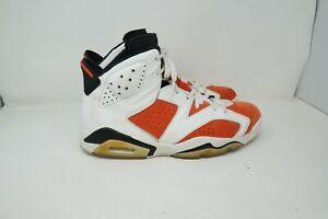 "Nike Retro Air Jordan 6 VI ""Gatorade Like Mike"" Orange White Size 12"