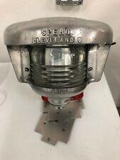 Antique 50s/60s Lighthouse Style Fresnel Lens Cleveland Sparo Pl100