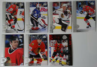 1996-97 Upper Deck UD Series 2 Chicago Blackhawks Team Set of 7 Hockey Cards