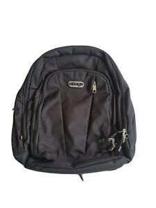 Ebags Black Professional Weekender Laptop Backpack Lot Of Space EB2146 18 Inch