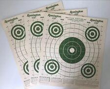 "Nos Vintage Original Remington 1952 ""Precision Sighting In� Targets Advertising"