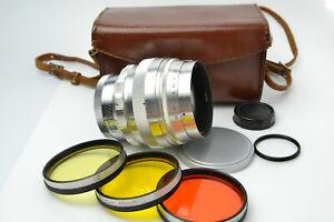 HELIOS-40 1.5/85mm Russian Very Rare Lens SLR Cameras M39 S/N 610350