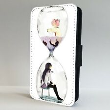 Puella Magi Homura Hourglass Anime Cool FLIP PHONE CASE COVER for IPHONE SAMSUNG