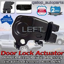 Honda Accord Door Lock Actuator Civic CR-V Odyssey Integra Acura RSX Front LEFT
