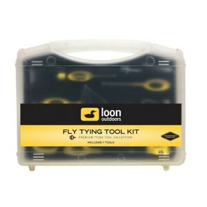 LOON Fly Tying Tool Kit, FLY TYING GIFT, Quality tying tool kit, fly fishing
