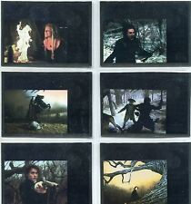 Sleepy Hollow [Movie] Complete Lobby Poster Chase Card Set LC1-6
