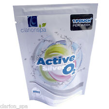ACTIVE SILVER OXYGEN MONTH KIT wkly 5in1*NO CHLORINE WATERCARE*hot tub chemicals
