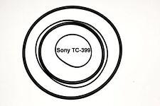 COURROIES SET SONY TC399 MAGNETOPHONE A BANDE EXTRA FORT NEUF DE FABRIQUE TC 399
