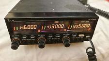 ICOM IC-DELTA100 IC-Δ100 VHF, UHF, 1200 Mhz, Transceiver, VERY RARE! Nice!!