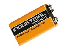 10 x Duracell Industrial 9V PP3 Alkaline Batteries MN1604 Replaces Procell
