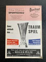 UEFA - EC III 88/89 FC Bayern München - SSC Neapel, 19.04.1989, Semi Final