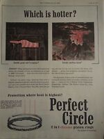 1954 Perfect Circle Piston Rings Car Parts Which Is Hotter Ad