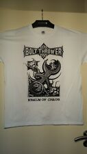 White Bolt Thrower - Realm Of Chaos T Shirt / Size XL