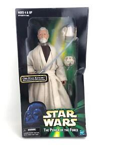 "Star Wars Power of the Force 2 (POTF2) 12"" 1/6th Jedi Master Obi-Wan Kenobi"
