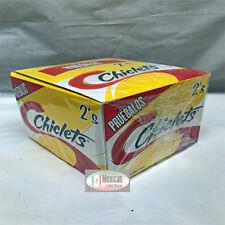 Adams Gum 100 x 2 units - Chiclets Menthol flavors Mexican gum 1-pack