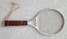 Aluminum Frame Vintage Tenex 980 Racquetball Racquet W/ Leather Grip