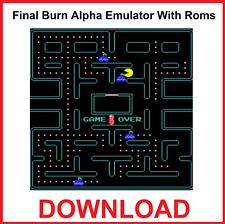 Final Burn Alpha émulateur avec ROM Download