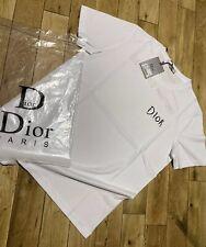 Christian Dior T Shirt White Uk Size Small Unisex