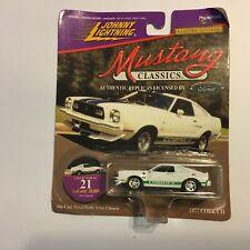 Johnny Lightning 1977 Mustang Cobra II #21 Authentic Classic Die Cast