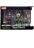 Batman vs Teenage Mutant Ninja Turtles TMNT Batgirl & Donatello DC Collectible