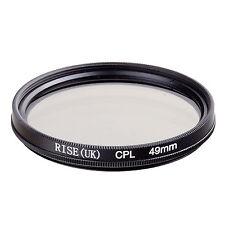 49mm Circular Polarizing CIR-PL CPL FILTER lenses for canon nikon sony lens 49mm