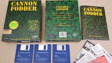 Cannon Fodder ©1993 Virgin Game for Commodore Amiga 500 600 1000 1200 2000 3000