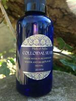 Pure Colloidal Silver - Premium Quality - Powerful Anti-Microbial 20ppm 50ml