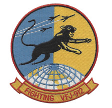 """4.38"""" NAVY VFJ-912 RESERVE SQUADRON EMBROIDERED PATCH"""