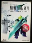 Official Final Fantasy VII Strategy Guide Book Brady Games 1997 Playstation