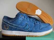 "NIKE SB DUNK LOW TRD QS ""EAST WEST PACK BIGGIE TUPAC"" BLUE SZ 8.5 [883232-441]"