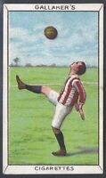 GALLAHER-SPORTS SERIES-#051- FOOTBALL - OVERHEAD VOLLEY