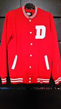 MENS DICKIES BASEBALL RED JACKET SIZE SMALL EXCELLENT CONDITION!!!!