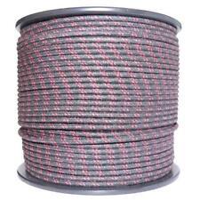 1m Algodón Trenzado Eléctrico Del Automóvil Cable calibre 18 Negro Rojo mancha