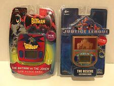 "LOT Handheld Keychain Games Techno Source ""The Batman vs Joker"" & ""The Rescue"""