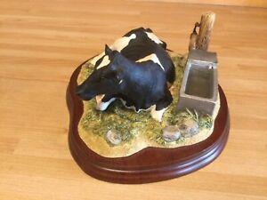 Border Fine Arts A5273 Holstein Friesian Lying Cattle Breeds