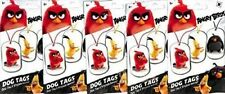 2016 Angry Birds Movie Collectible Dog Tag Necklace Sticker Surprise 100 Packs