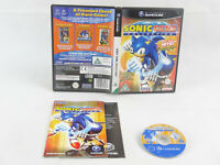 Sonic Gems Collection GameCube Nintendo Complete PAL