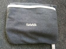 Saab OEM Packable Fleece Throw Blanket Grey - Saab OEM Dealer Item