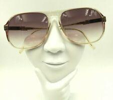 Vintage Safilo Elasta 1087 Transparent Oversized Aviator Sunglasses Frames Only