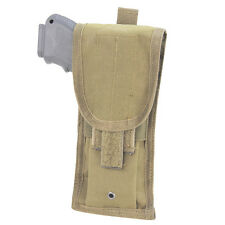 Condor Coyote Tan MA10 Molle Pistol Pouch Holster Fits Most Pistols MA10-003