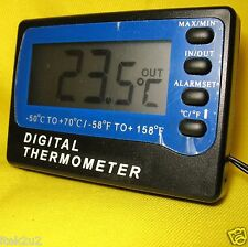 Fridge Freezer Digital Temperature Meter & Alarm Thermometer suit Waeco Engel Bk