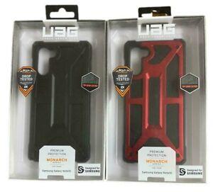 Urban Armor Gear UAG Monarch Case for Samsung Galaxy Note10 [6.3-inch] Black Red