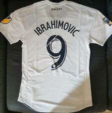 Maillot los angeles galaxy num9 ibrahimovic jersey soccer player version size M