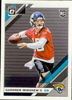 🔥2019 Gardner Minshew II RC Panini Donruss Optic Base Clean CENTERED!Jaguars 🐆