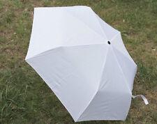 Happy Rain weißer Automatik Regenschirm up & down weiß Taschenschirm