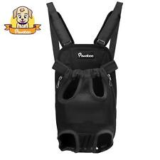 Pawaboo Soft Pet Front Cat Dog Carrier Backpack Travel Hiking Mesh Bag Legs Out