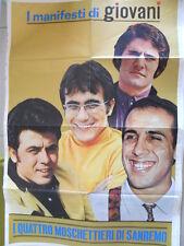 Poster Manifesti di GIOVANI 1967 73x50 cm - FESTIVAL DI SANREMO  [D39-1]