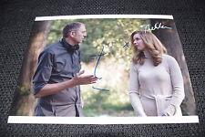 THEKLA REUTEN & ANTON CORBIJN signed Autogramme auf 20x28 cm Bild InPerson LOOK
