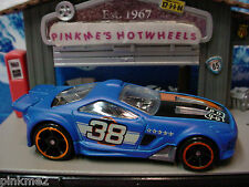 2013 Hot Wheels SCORCHER∞flat BLUE; 38∞Multi Pack Design Exclusive∞LOOSE∞