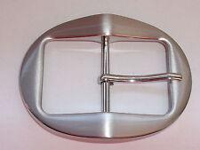 Gürtelschnalle Schließe Schnalle Verschluss 4 cm silber NEUWARE rostfrei #793#
